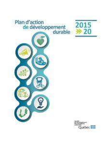 Plan d'action de développement durable 2015-2020