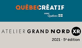 Visuel menant vers communiqué Atelier Grand Nord XR 2021