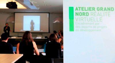 Atelier Grand Nord réalité virtuelle 2017