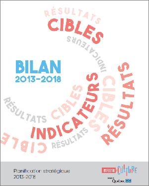 Bilan 2013-2018 du plan stratégique 2013-2018 de la SODEC