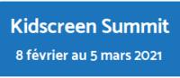 Bouton menant vers la page Kidscreen Summit 2021