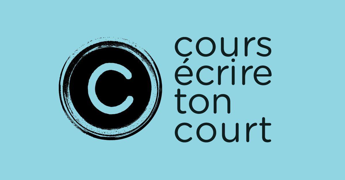 logo Cours écrire ton court bleu