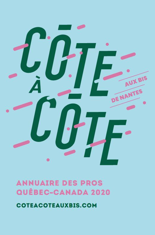 Image menant l'annuaire de professionnels québécois et canadiens présents au Bis de Nantes 2020
