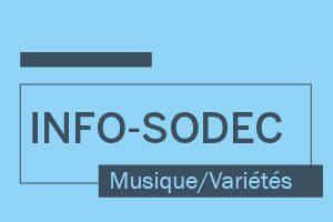 Rapport de clôture – programme d'aide temporaire à la représentation de spectacles de musique et de variétés