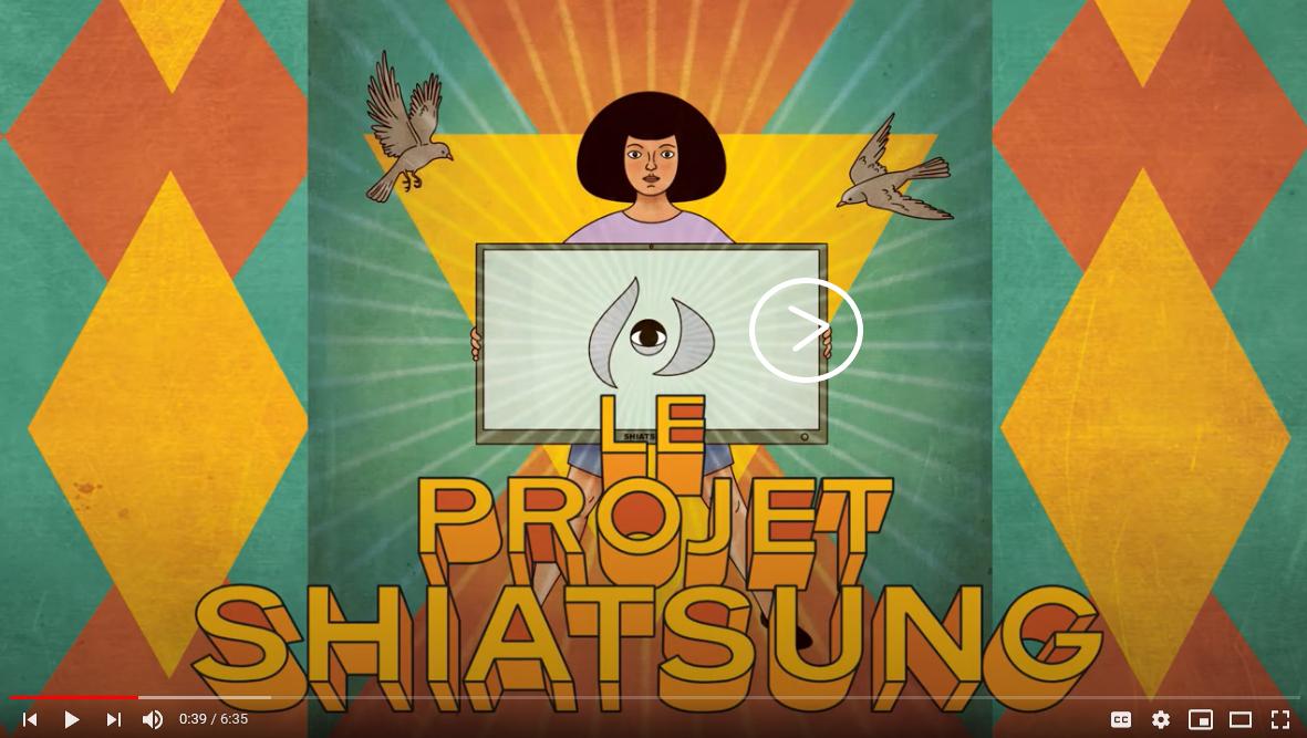 Image menant vers la vidéo du Pitch Le projet Shiatsung