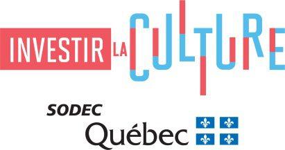 Logo Investir la culture SODEC
