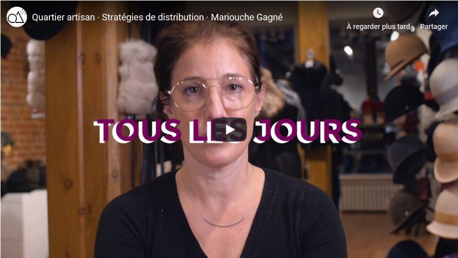 Vidéo Les stratégies de distribution selon Mariouche