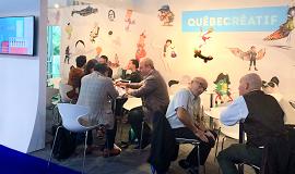 Pavillon Québec créatif au Mifa 2018