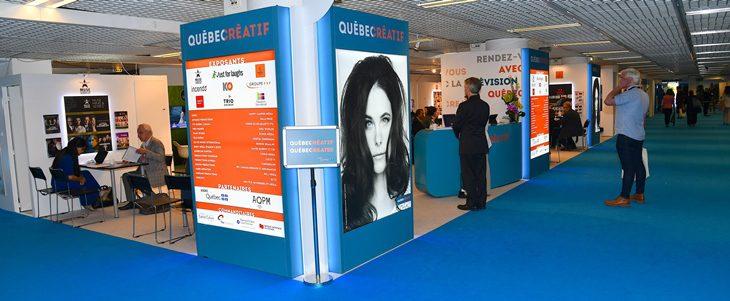 Pavillon Québec créatif au MIPCOM 2018