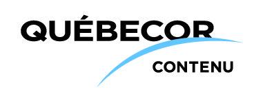 Logo de Québecor contenu