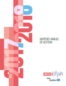 Rapport annuel de gestion 2017-2018 de la SODEC
