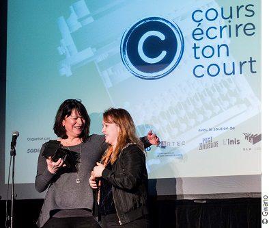 Photo de la gagnante du Grand Prix Cours écrire ton court 2018-2019