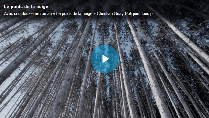 Image menant vers la vidéo profil de Christian Guay-Poliquin