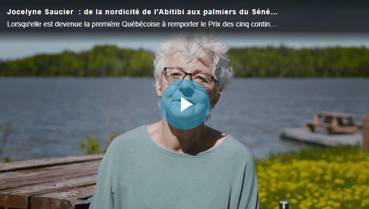 Image menant vers la vidéo profil de Jocelyne Saucier