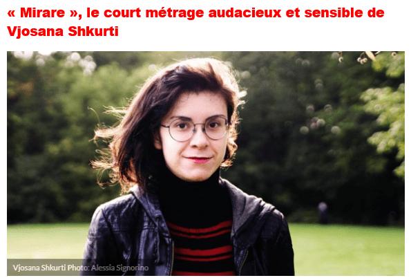 Vjosana - Cours Ecrire Ton Court